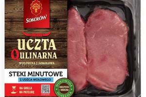 Grupa Sokołów wkrótce wprowadzi nową markę z segmentu wołowiny