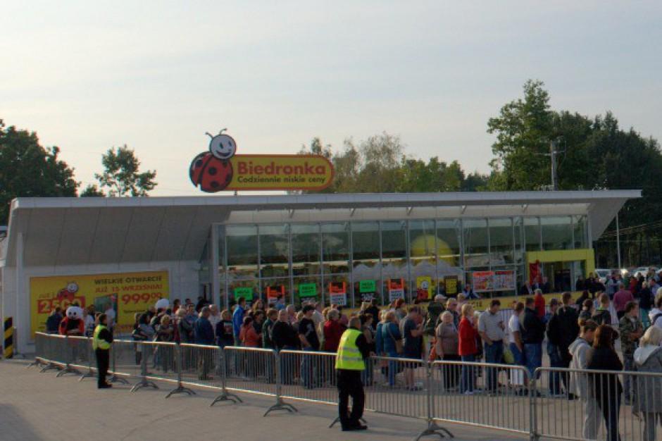 Świeże Biedronka ma już 2500 sklepów w Polsce. Sieć otwiera sklepy według WJ21