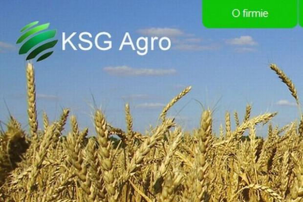 KSG Agro modyfikuje swoją strategię