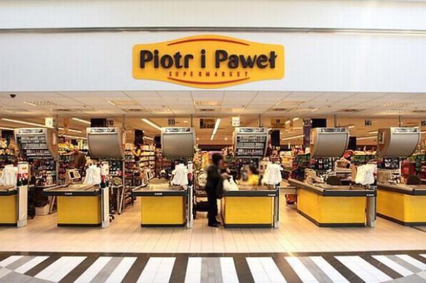 Piotr i Paweł testuje samodzielne skanowanie zakupów przez klientów