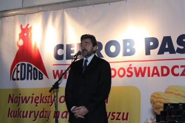 Cedrob rozpoczął budowę największego w Polsce zakładu produkcji pasz