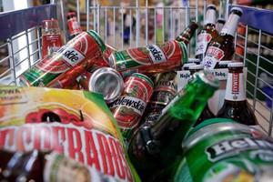 Produkcja piwa wzrosła po ośmiu miesiącach, ale nieznacznie