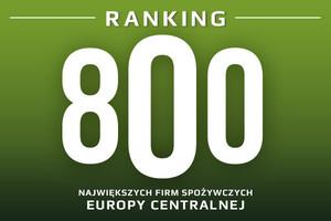 800 największych firm spożywczych Europy Centralnej (2012/2011)