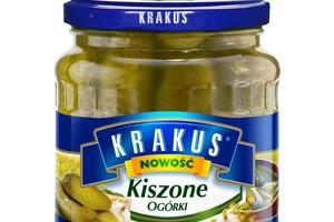 Marka Krakus poszerzyła ofertę o ogórki kiszone