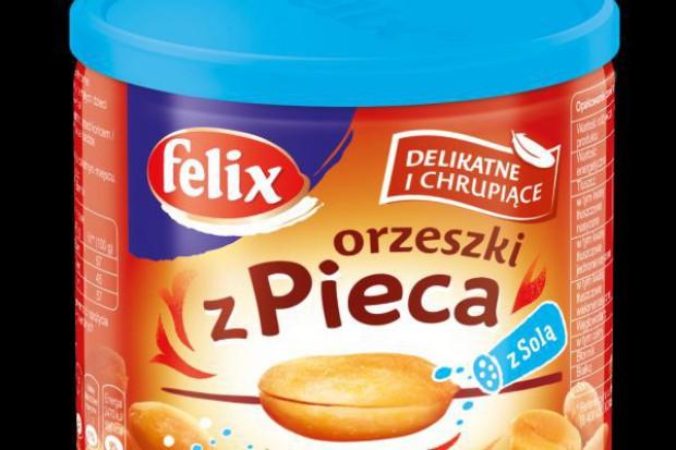 Marka Felix wprowadza dwukrotnie prażone Orzeszki z pieca