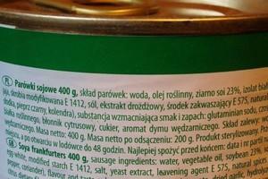 Konsumentom brak wiedzy o dodatkach do żywności