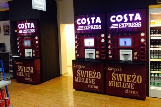 Ruszył rebranding maszyn vendingowych Coffeeheaven Express na Costa Express