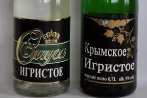 Fałszywe napoje imitujące wina musujące. Sprawę badają PRW i GIJHARS