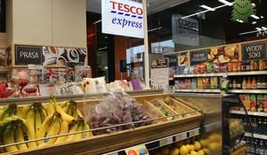 Zdjęcie numer 1 - galeria: Tesco Express otwiera sklep convenience w biurowcu - zdjęcia