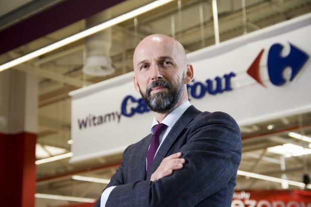 Prezes Carrefour Polska: Internet znakomicie uzupełni naszą ofertę