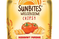 Ogrodowy pomidor nowym smakiem chipsów Sunbites