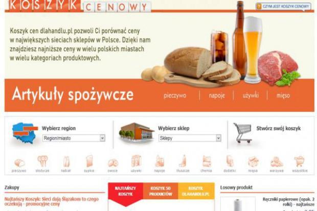 Koszyk cen: Różnice cenowe pomiędzy 5 sieciami supermarketów to jedynie 10 zł