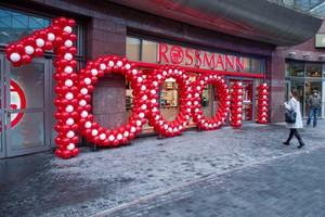 Zdjęcie numer 1 - galeria: Rossmann ma 1000 sklepów w Polsce - zdjęcia