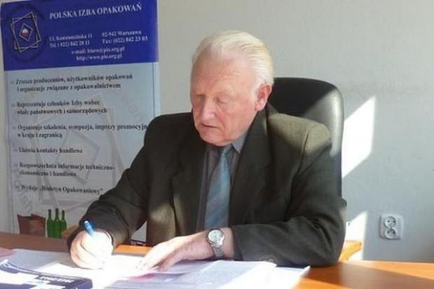 Wacław Wasiak, dyrektor Polskiej Izby Opakowań - wywiad