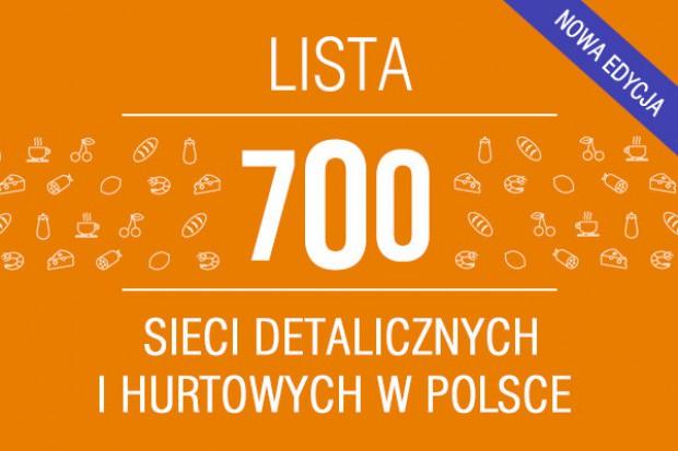 Lista 700 sieci detalicznych i hurtowych w Polsce - edycja 2015