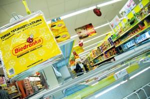 Biedronka chce stopniowo odzyskać satysfakcjonujące tempo sprzedaży