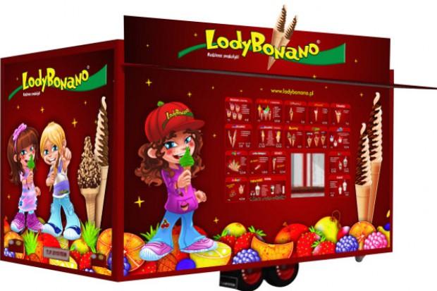 Lody Bonano uruchamiają mobilny punkt sprzedaży