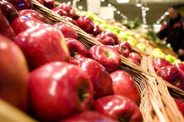 Eksport jabłek od sierpnia do grudnia 2014 r. spadł o 23 proc.