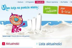 Trwa nabór placówek do trzeciego roku programu promującego mleko