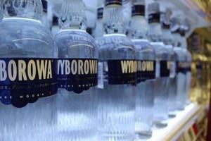 Produkcja wódki ostro rośnie