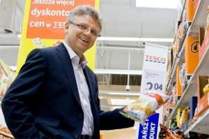 Ryszard Tomaszewski, prezes Tesco Polska - sylwetka