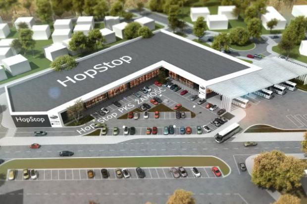 HopStop z pozwoleniem na budowę