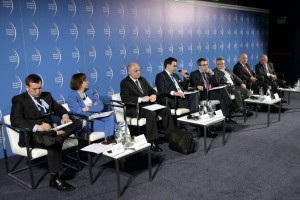 EEC2015 - Debata nt. strategii eksportowych z udziałem firm: Maspex, Mokate, Konspol, Tesco, ZM Mościbrody, Agencji RynkuRolnego.