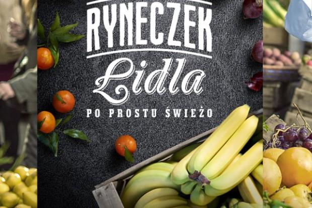 Lidl chce, aby Polacy kupowali świeże warzywa i owoce w jego sklepach