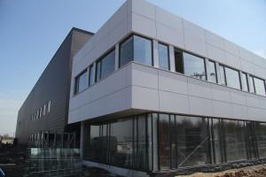 Zakład Promaru w ostatniej fazie budowy