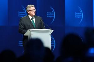 Komorowski na EEC: Polska potrzebuje skoku w dziedzinie innowacyjności