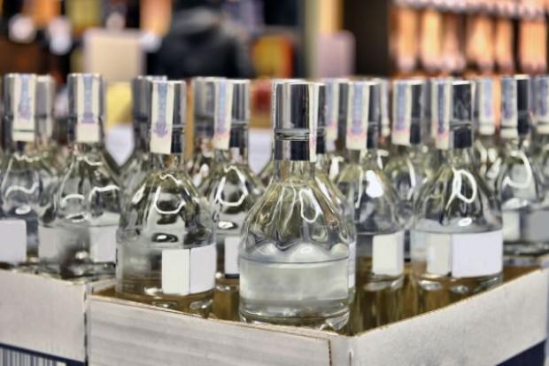 Produkcja wódki mocno rośnie od początku roku