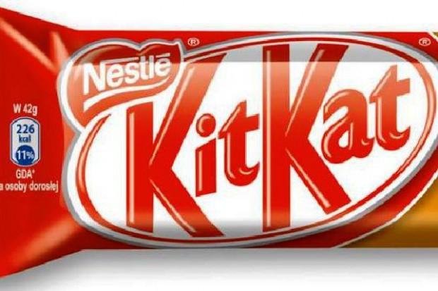 Nestle i Cadbury sądzą się o kształt batoników KitKat