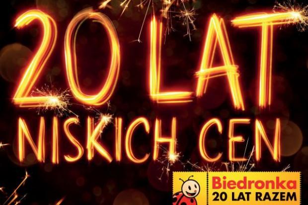 Sieć Biedronka świętuje swoje 20 urodziny