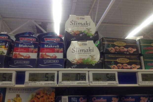Puszki z mięsem ślimaków od PSH już w sklepach