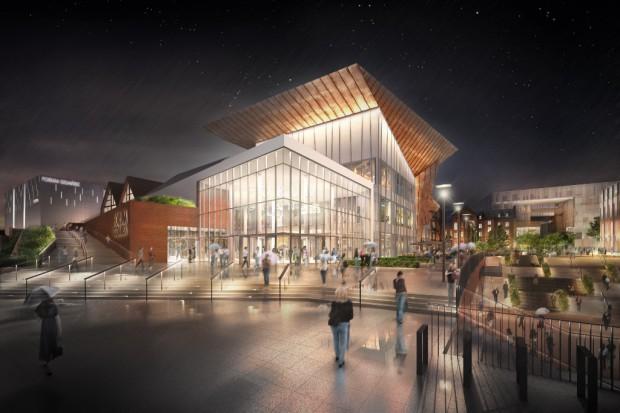 Ruszyła budowa kompleksu Forum Gdańsk