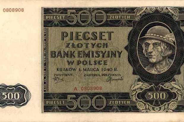 NBP planuje druk banknotów o nominale 500 zł