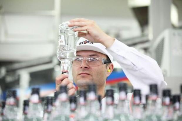 Produkcja wódki mocno rośnie