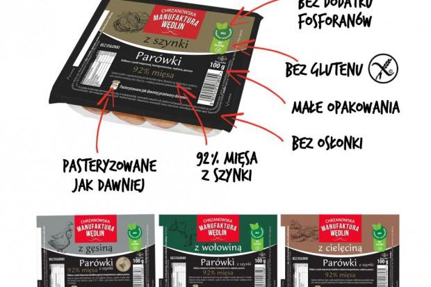 Parówki Premium z Chrzanowa- pasteryzowane jak dawnej przetwory domowe