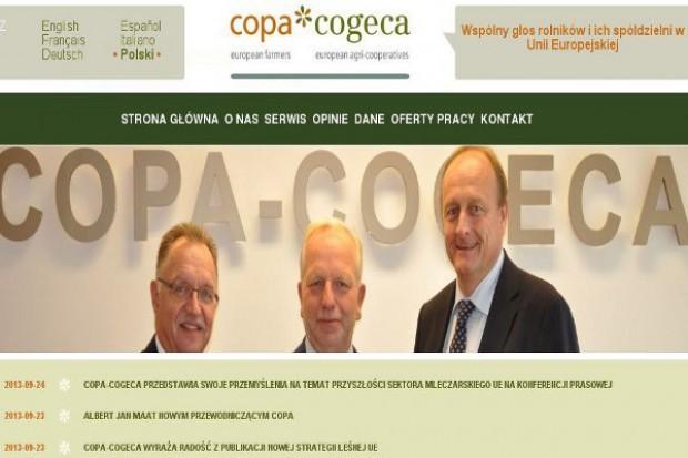 Copa i Cogeca ostrzegają przed niezmiernie trudną sytuacją na rynku mleka UE
