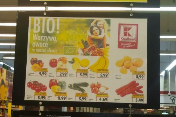 Kaufland wprowadza do sprzedaży warzywa i owoce BIO