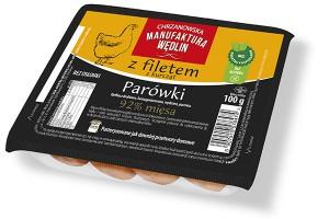 Parówki z filetem z kurcząt  - nowa propozycja od Chrzanowskiej Manufaktury Wędlin