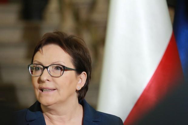 Ewa Kopacz przeciwna dodatkowym podatkom od marketów. Zachwala ofertę Biedronki