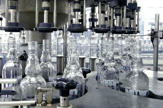 Produkcja wódki spadła w czerwcu, ale wzrosła w pierwszym półroczu