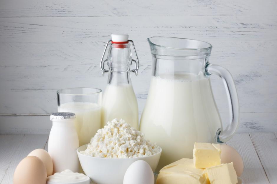 Spadek wartości eksportu artykułów mleczarskich