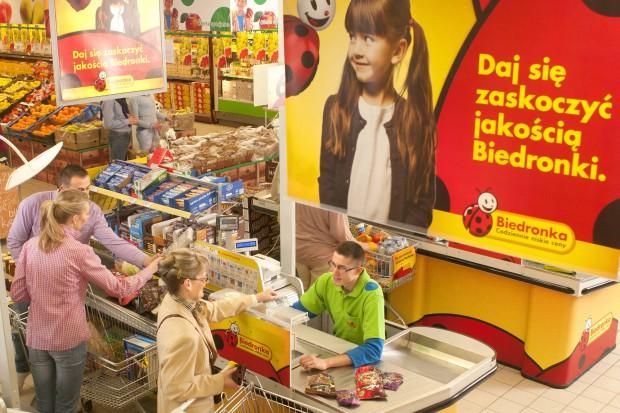 Biedronka skupi się na inwestycjach wewnątrz sklepów