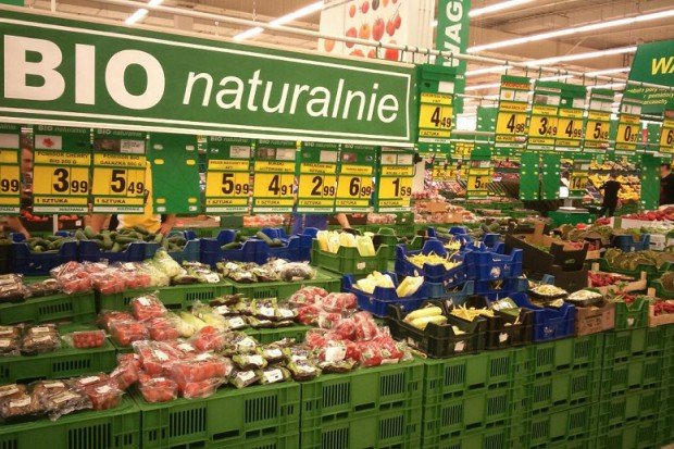 Auchan inwestuje w ofertę produktów BIO