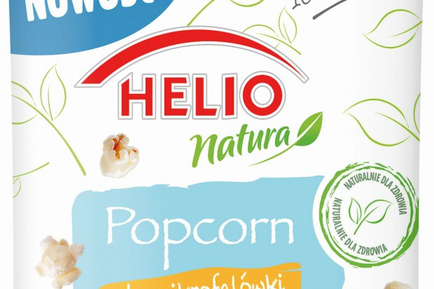 Helio Natura - innowacyjny popcorn do mikrofalówki
