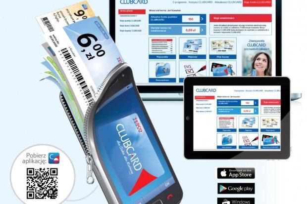 Tesco Clubcard także online