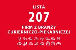 Lista 207 firm z branży piekarniczo-cukierniczej - edycja 2015