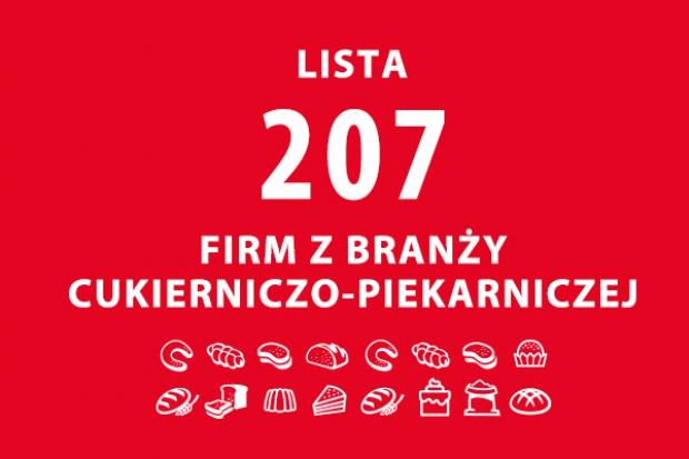 Lista 207 firm z branży piekarniczo-cukierniczej